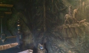 Gothic Forest Guest Bedroom L