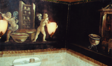 Pompeii Powder Room B