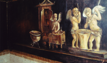 Pompeii Powder Room E